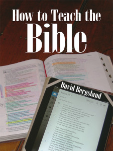How To Teach the Bible