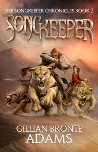 Songkeeper, book 2 of the Songkeeper Chronicles