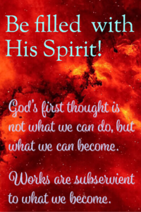 Remember the original spontaneous Holy Spirit of life?