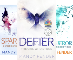 The Defier Series is excellent YA Dystopian Christian fiction