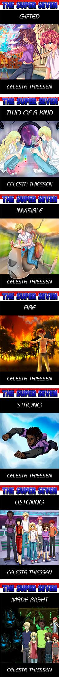 Mid-school science fiction Super Seven series