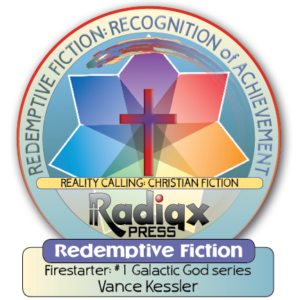 Redemptive Science Fiction Firestarter recognition of achievement award