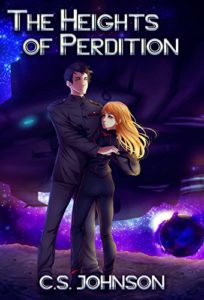 Book 1, The Heights of Perdition, Divine Space Pirates dystopian science fiction fantasy