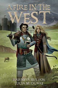 A Fire in the West brings the Christian fantasy Stonegate Series to a classic finish.